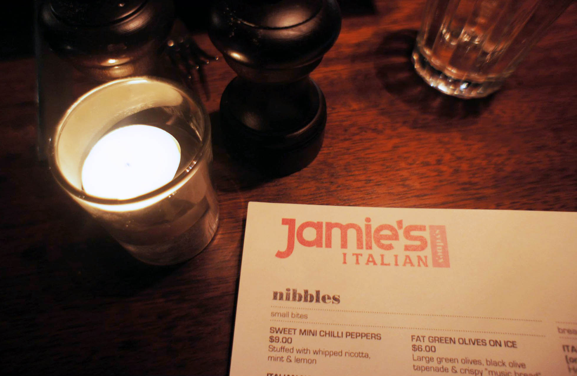 Jamies Italian, Wynyard