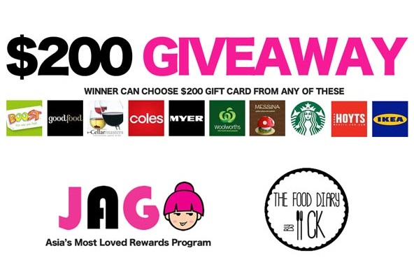 JAG Gift Card Giveaway